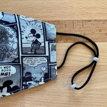 Disney Mickey Mouse Fabric Face Mask