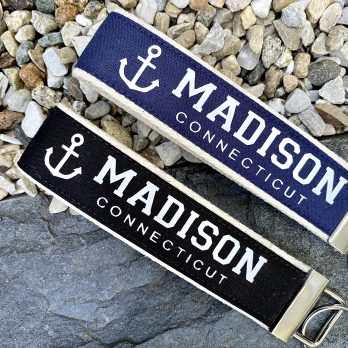 Personalized Wristlet Key Fobs