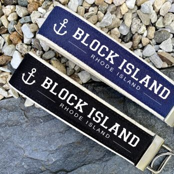 Block Island Wristlet Key Fob Chain Gifts