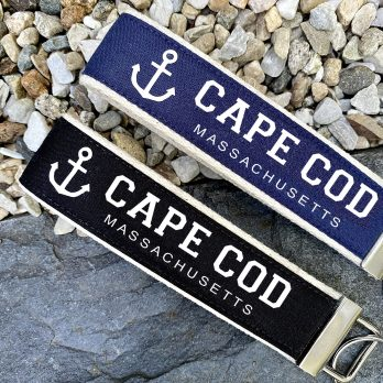 Cape Cod Wristlet Key Fob Chain Gift