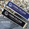 Connecticut Conn College Key Fob Chain