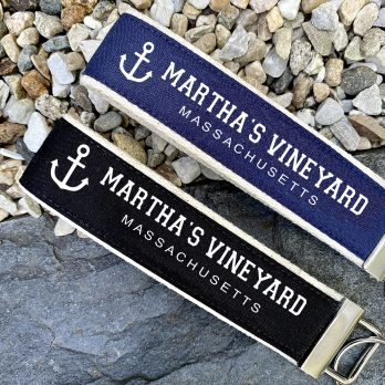 Martha's Vineyard Wristlet Key Fob Chain Gifts