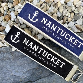 Nantucket Wristlet Key Fob Chain Gift