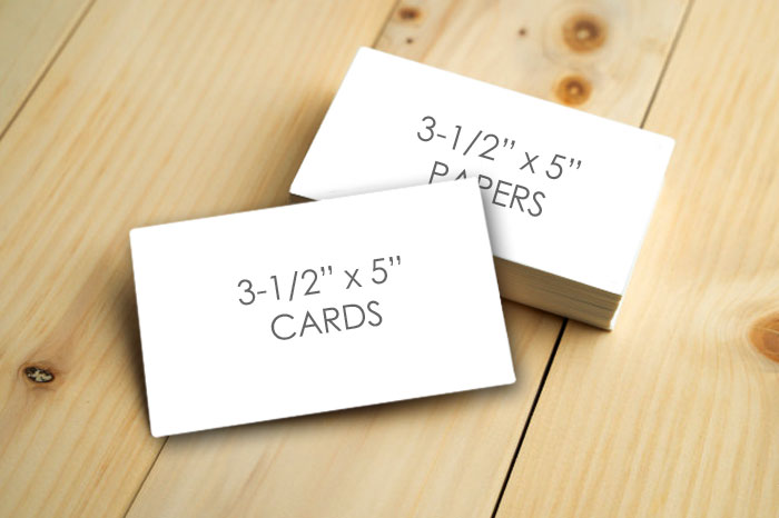 """3-1/2"""" x 5"""" Cards for Entering Mail-in Sweepstakes"""