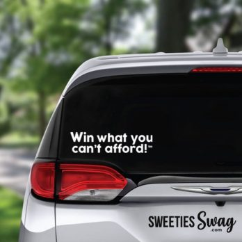 Inspirational Sweepstakes Window Vinyl Decals
