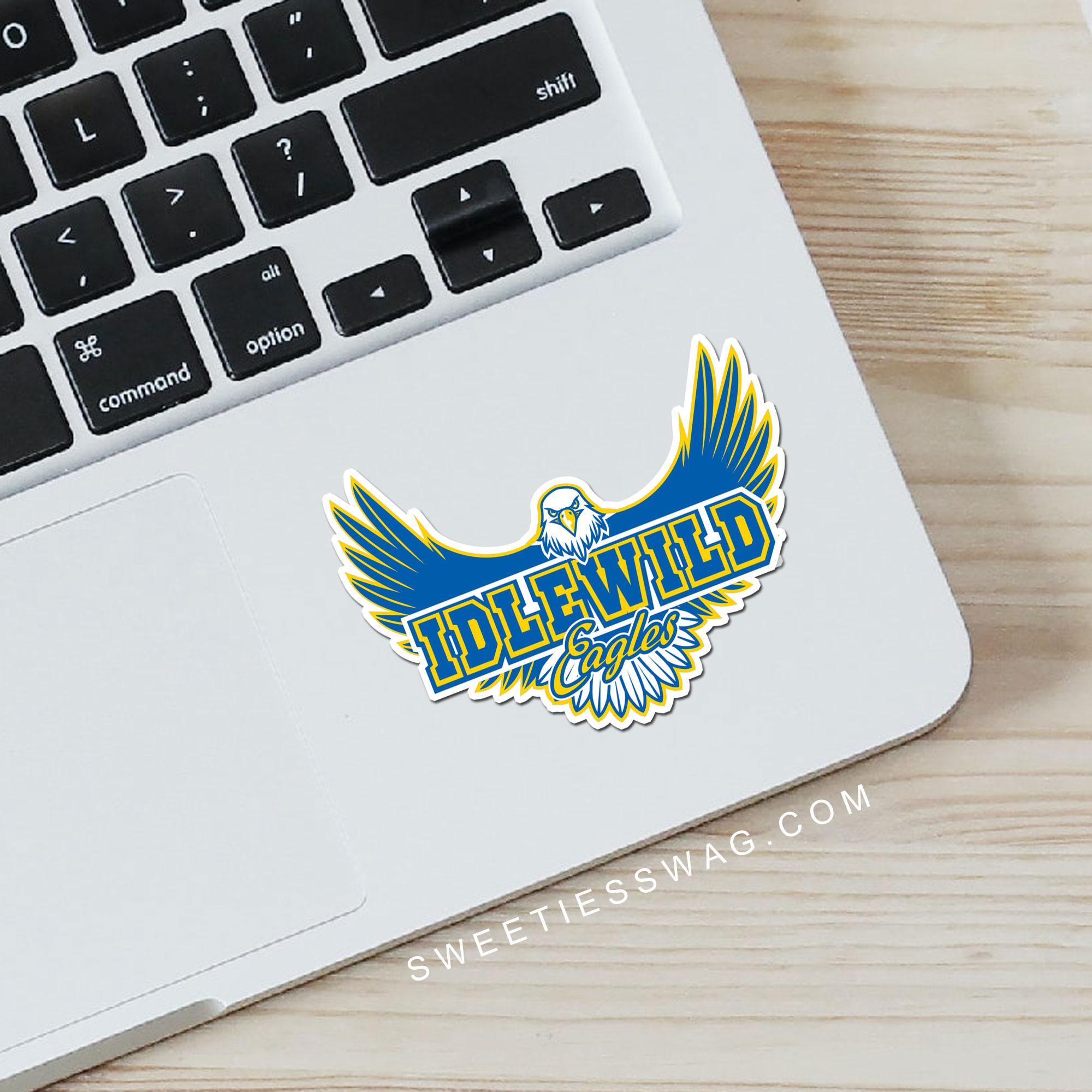 idlewild-eagles-diecut-stickers1