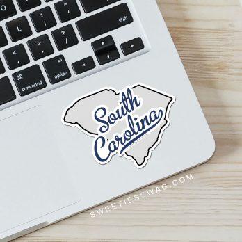 "State of South Carolina ""Die Cut"" Vinyl Stickers"