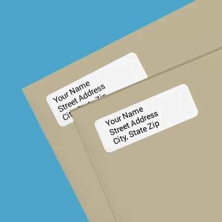 Custom Return Address Labels
