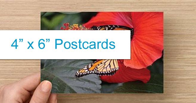 "4"" x 6"" Postcards"