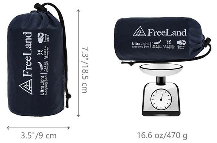 FreeLand Camping Sleeping Pad