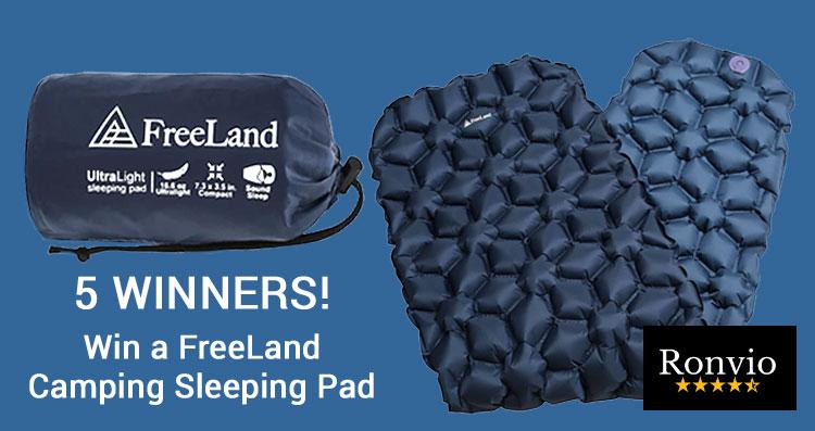 RONVIO FreeLand Camping Sleeping Pad Giveaway